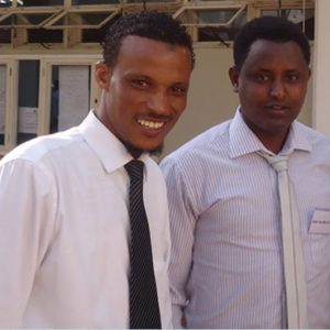 Tijani Hussien and Dawit H